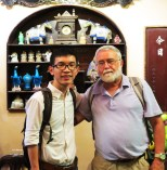 "2015 summer brought my chance to meet Mr. Stingy Old Miser at a concert hall. From New England aside, his career as a military man and a special education teacher interested me. We ended up talking for hours just a day before he journeyed to Chongqing, China. We carry different things and experience in our backpacks, his larger than mine, but I guess it was our shared curiosity to learn that formed our friendship. ""Like ships that pass in the night"" – I still wonder and marvel at the probability and the randomness of life. What ships, led by the North Star, will come and change the course of our expedition?"