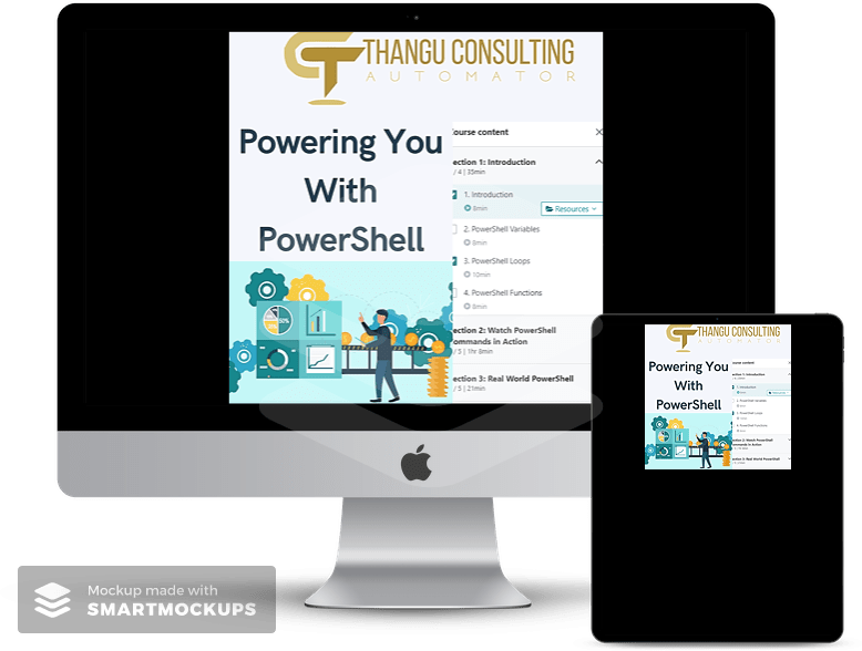 Thangu Consulting POwering You with PowerShell