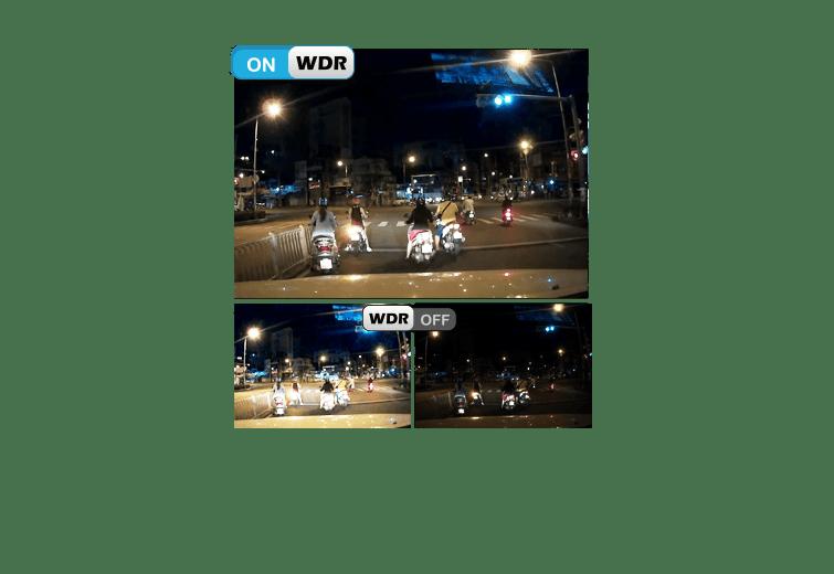 WDR ghi hình ngược sáng - Camera vietmap x9s