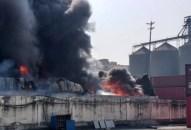 Hải Phòng: Cháy lớn tại xưởng sản xuất bao bì nhựa