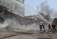 Thực tập phương án chữa cháy, cứu nạn, cứu hộ tại Tầng hầm B2 – Tòa nhà SHP Plaza