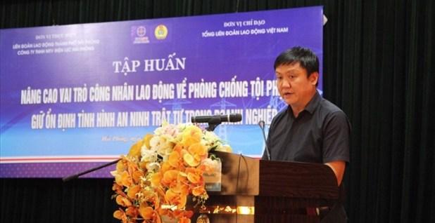 Tập huấn phòng chống ma túy tới hơn 200 công nhân ngành Điện