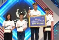 Mở màn sân khấu mới, nam sinh Toàn Thắng giành nguyệt quế Olympia ấn tượng