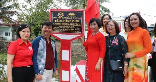 Khánh thành 2 cầu dân sinh tại huyện Tiên Lãng