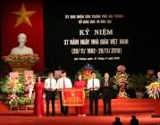 Kỷ niệm 37 năm ngày Nhà giáo Việt Nam: 4 tập thể và 73 cá nhân được khen thưởng