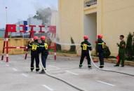 Phòng Cảnh sát PCCC và cứu nạn, cứu hộ: Thường trực sẵn sàng chữa cháy, cứu nạn, cứu hộ 24/ 24h