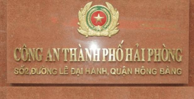Thông báo Quyết định khởi tố vụ án hình sự của Cơ quan Cảnh sát điều tra Công an thành phố Hải Phòng