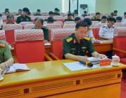 Hiệp đồng chặt chẽ giữa các lực lượng thực hiện nhiệm vụ phòng chống thiên tai và tìm kiếm cứu nạn