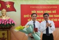 Công bố Quyết định bổ nhiệm Phó Giám đốc Sở Nội vụ