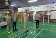 Đoàn viên Công đoàn Khu kinh tế Hải Phòng tích cực tập luyện tham dự Hội thi An toàn vệ sinh viên giỏi và an toàn giao thông