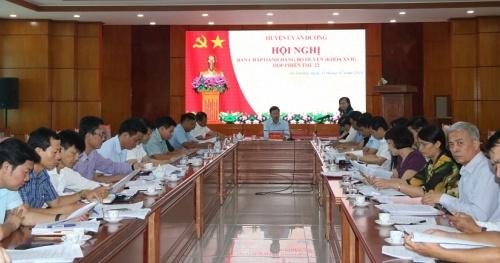 Đại hội Đảng bộ huyện An Dương sẽ diễn ra trong 3 ngày 23, 24 và 25-7