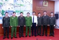 Thứ trưởng Bộ Công an Lê Quốc Hùng thăm, làm việc với CATP Hải Phòng