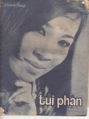 """Ảnh Thanh Thúy trên bìa bản nhạc """"Tủi Phận"""""""
