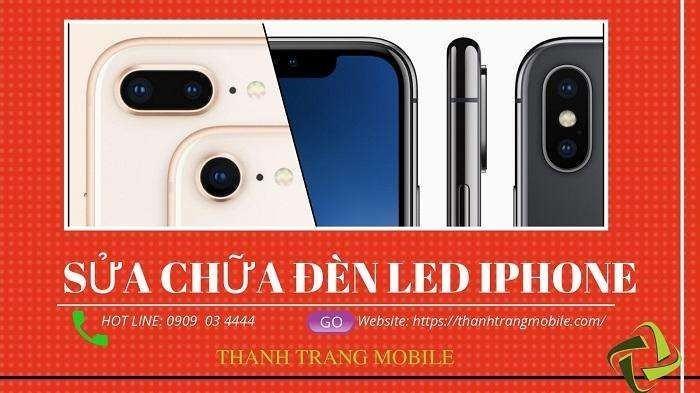 sửa chữa led iphone