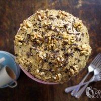 Nigella's Moist English Coffee Cake with Walnuts: Made Gluten-free & Dairy-Free!