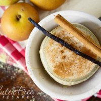 Very Scrumptious Baked Apple Pie Smoothie - With probiotic & Flu-busting side effects!