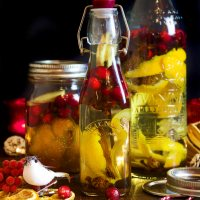 Fantastic Christmas Spice Infused Vodka with Cranberries - Sure to Warm The Cockles!