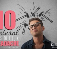 10 Surprising Ways To Kill A Headache Without Drugs!