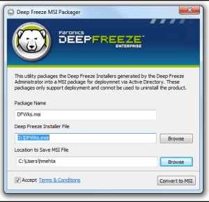 Deep-Freeze