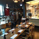 Inside Maschmann's restaurant