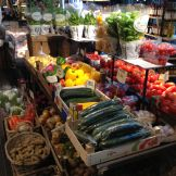 More fresh fruits and vegetables