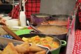 Indulge in Ethiopian food! Several vegetarian options too.