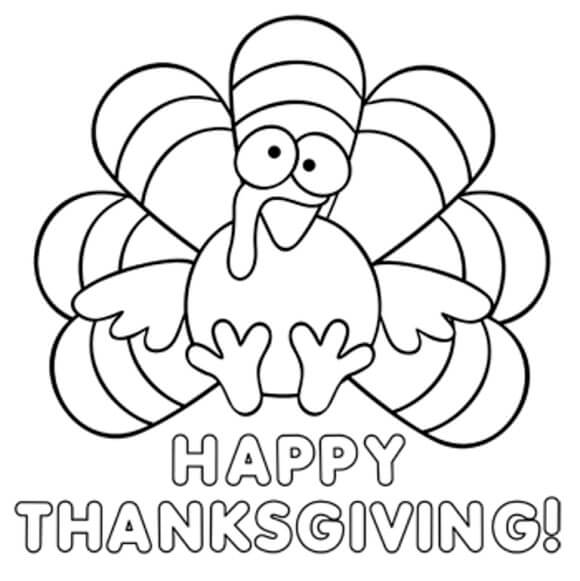 thanksgiving coloring pages # 8