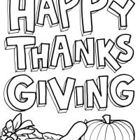 55+ *Free Happy Thanksgiving Coloring Pages Printable For Kids Preschoolers Kindergarten