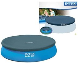 Intex Easy Set Pool Cover - Poolabdeckplane - Ø 244 cm - Für Easy Set Pools
