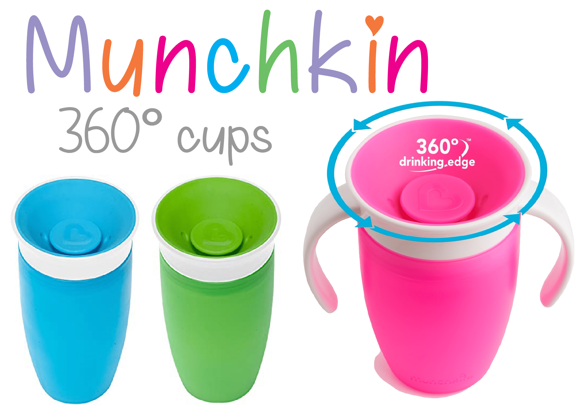Munchkin Miracle 360 Cups