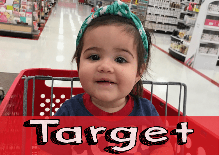 Shopping for My Kids at Target