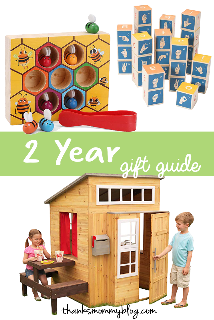 Toddler Development & Gift Guide for a 2 Year Old