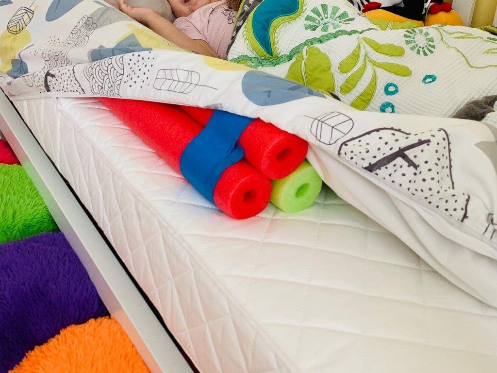 Easy DIY Toddler Bed Rail Bumper - Solution for Kids Falling Out of Bed