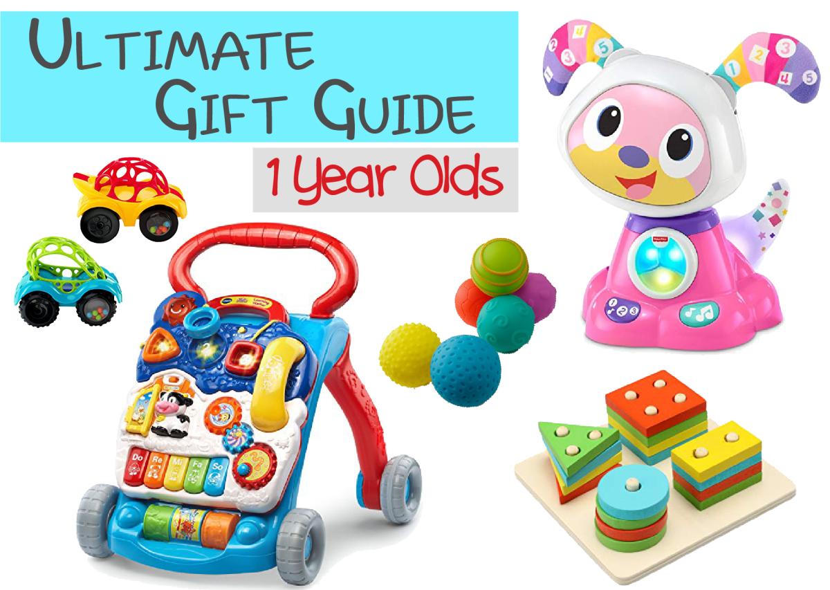 Toddler Gift Guide for 1 Year Olds