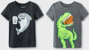 Cat & Jack Hungry Animal Short Sleeve