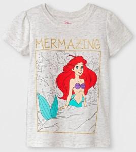 Target- Mermaizing Toddler Ariel Shirt