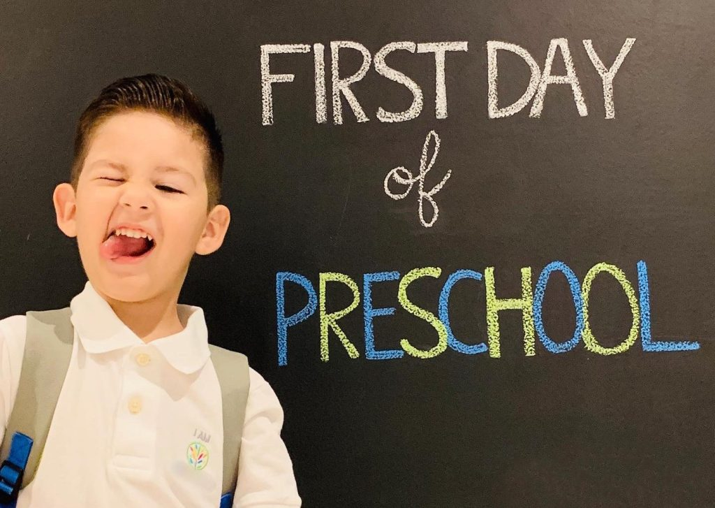 Our First Preschool Experience