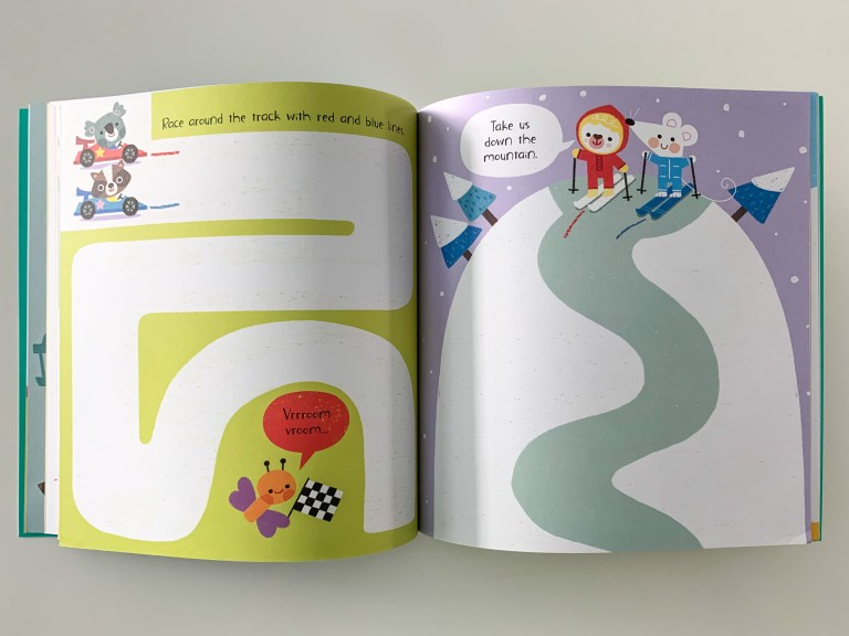 Usborne's Little Children's Drawing Book for Preschoolers Review