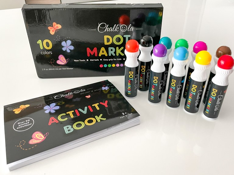 Colorful And Unlimited Fun With Easy Dot Marker Activities For Toddlers