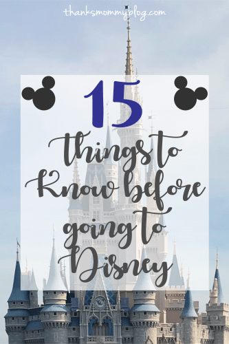 15 Things to Know Before Going to Disney
