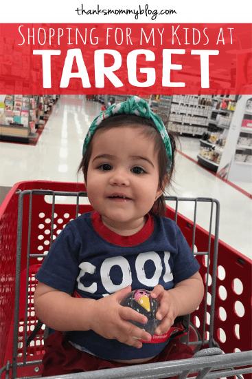 Shopping for Kids at Target