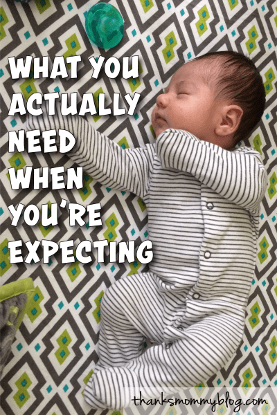 What You Really Need for Baby Shopping