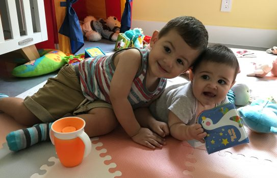 Raising 2 Kids Under 2 -- Thanks Mommy Blog