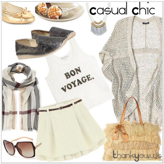 Bon Voyage - casual chic