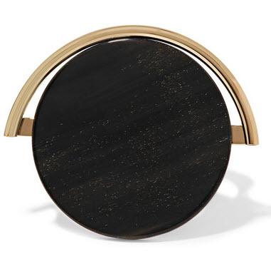 MARNI Gold-plated horn bracelet