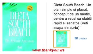 Previous Dieta South Beach. Un plan simplu si placut, conceput de un medic, pentru a reusi sa slabiti rapid si sanatos