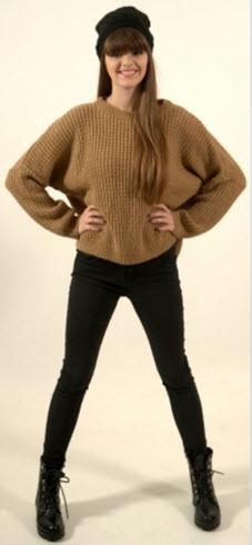 pulover gros mohair maro