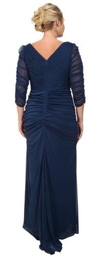 rochii de seara masuri mari lungi elegante din voal