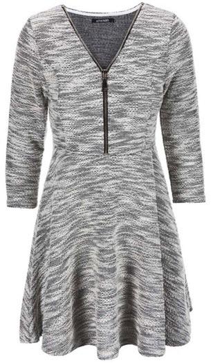 rochie tricotata in clos din material buclat foarte calduroasa masuri XS S M L XL XXL