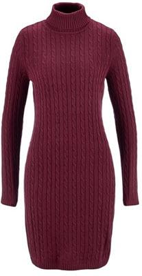rochii tricotate marimi mari